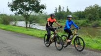 Two childhood friends are cycling from Kanyakumari to Khardung La to support girl child education