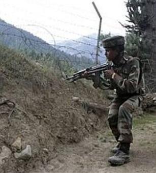 Pak violates ceasefire twice, jawan injured
