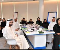 Sheikh Mohammed meets UAE's Happiness and Positivity officers