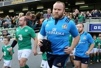 Italy coach O'Shea goes for continuity at Six Nations