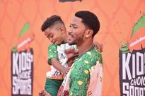 Derrick Rose And His Son P.J. Wore The Same Awesome Shirts To An Awards Show