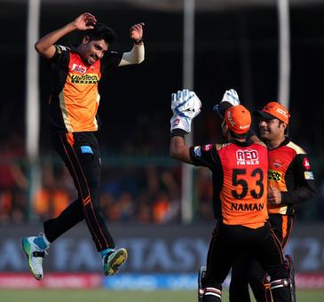 IPL PHOTOS: Dominant Sunrisers crush Gujarat to enter play-offs