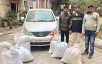 Delhi: Inter-state narcotics supply racket busted, ganja worth Rs 50 lakh recovered