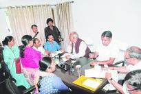 Troubled women throng ministers at janata durbar