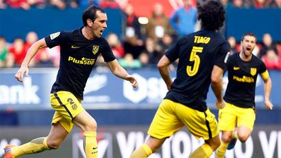 La Liga: Atletico return to top four with comfortable win at Osasuna