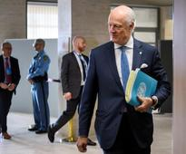U.N. Syria envoy says chemical attack came from the air