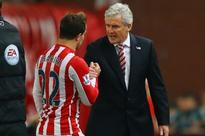 Stoke boss Mark Hughes blasts Ottmar Hitfeld over Xherdan Shaqiri assessment