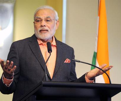 Constable suspended for criticising Modi