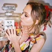 Lily-Rose Depp's Chanel No.5 Campaign Pics are Beautiful
