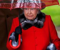 Britain's Queen Elizabeth misses church again due to heavy cold