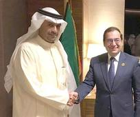 Kuwaiti Oil Min, Egyptian counterpart seek further coop.
