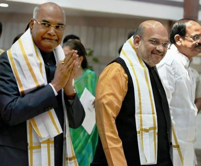 Privileged to have a Dalit as first BJP-nominated President: Shah