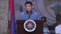Philippines president Rodrigo Duterte threatens to throw corrupt officials from helicopter - as he has 'done before'