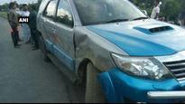 Congress MP Adhir Chowdhury escapes unhurt in massive accident
