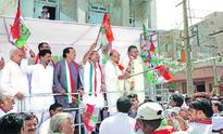 Cong starts yatra demanding water for thirsty state