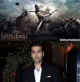 Karan Johar will distribute BAAHUBALI: THE CONCLUSION Hindi version and there's no delay, says S.S. Rajamouli