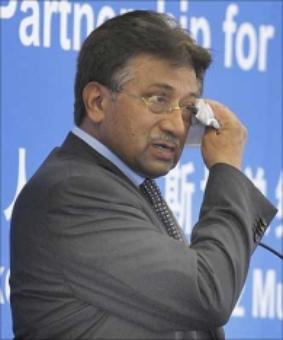 Musharraf declared 'absconder' in high treason case
