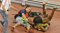 How not to get an Usain Bolt autograph: How Twitter reacted to Usain Bolt's epic fall