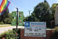 Vandals target LGBT-friendly church