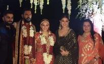 Virat, Rohit attend Yuvi's dazzling wedding ceremony