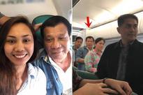 Lucky Passenger Shares Her Selfie With President Duterte On A Commercial Flight