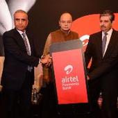 Arun Jaitley launches Airtel Payments Bank with initial investment of Rs 3000 crore