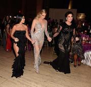 Kardashians Attend Star-Studded Angel Ball