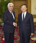 Chinese state councilor meets Indian foreign minister