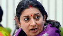 Smriti Irani promises 100% fee waiver at IITs for SC/ST, Dalit, physically challenged students