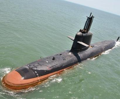India's Kalvari stealth submarine starts sea trials