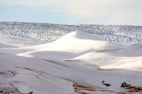 Sahara desert sees huge snowfall