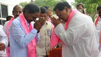 DS meets KCR at camp office