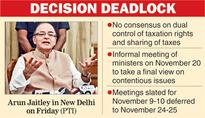 Duel over dual control of GST