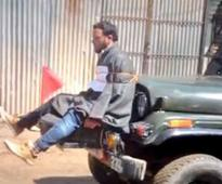 Jammu and Kashmir: FIR registered against Army for tying man to jeep