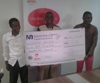 Airtel turns a Mangochi businessman to an instant Millionaire
