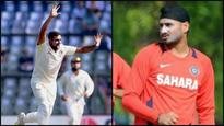 Ashwin equals Harbhajan's long-standing feat