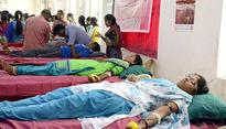Blood donation camp for women