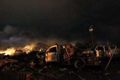 12 bodies recovered from Texas plant blast site
