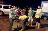 Mumbai: Fed up of BMC apathy, Malad residents fill up potholes
