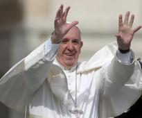 Pope prays for terrorist attacks victims