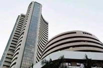 Sensex ends up by 195.64 pts