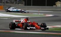 Motor racing: Sebastian Vettel wins Bahrain Grand Prix ahead of Hamilton