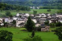 Summer scene at Hongcun village in Anhui province