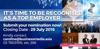 HR Asia Best Companies To Work For In Asia 2016 | Singapore Edition