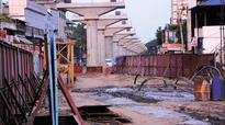 Plot demarcation starts for Metro Kakkanad stretch