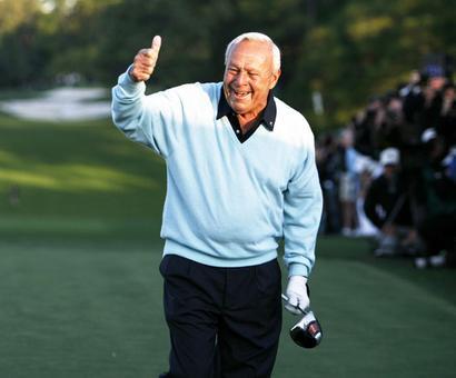 Golfing great Arnold Palmer dies at 87