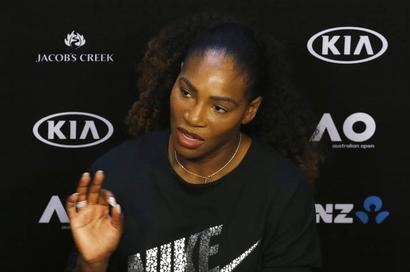 Serena defers engagement joy as 7th Aus Open in sight