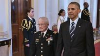 Barack Obama awards Medal of Honour to US veteran of Vietnam War