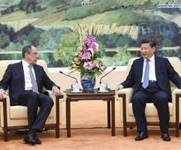 Chinese president meets Russian foreign minister
