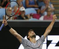 Djokovic hole gives Dimitrov long-awaited chance